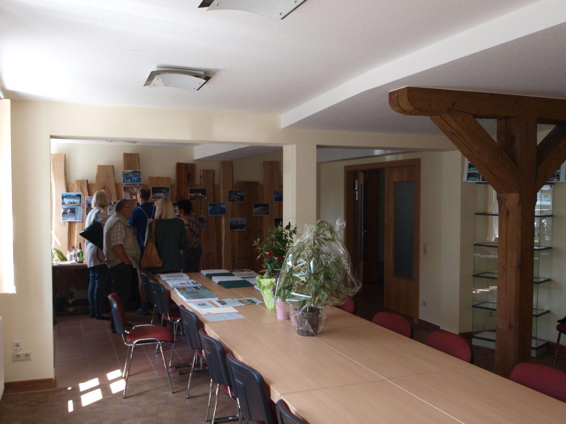 Sanierung und Umbau Beratungsraum