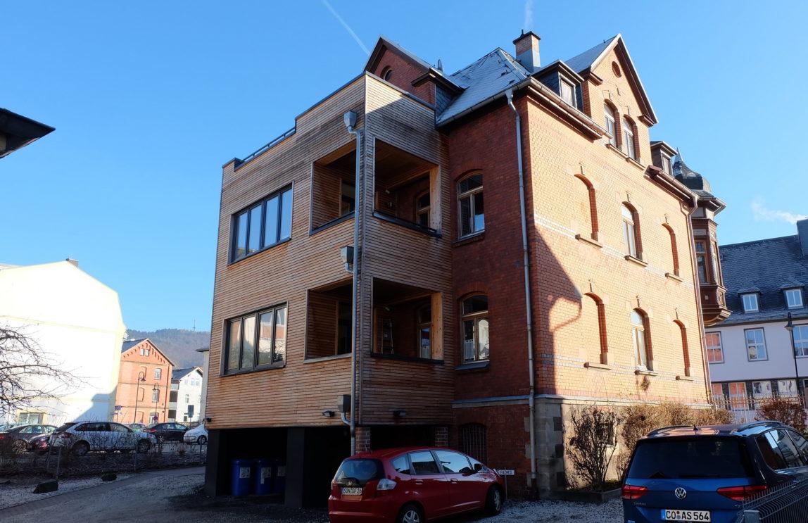 Balkon und Wintergarten in Sonneberg